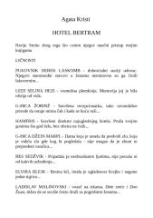 Agata Kristi - Hotel Bertram.doc