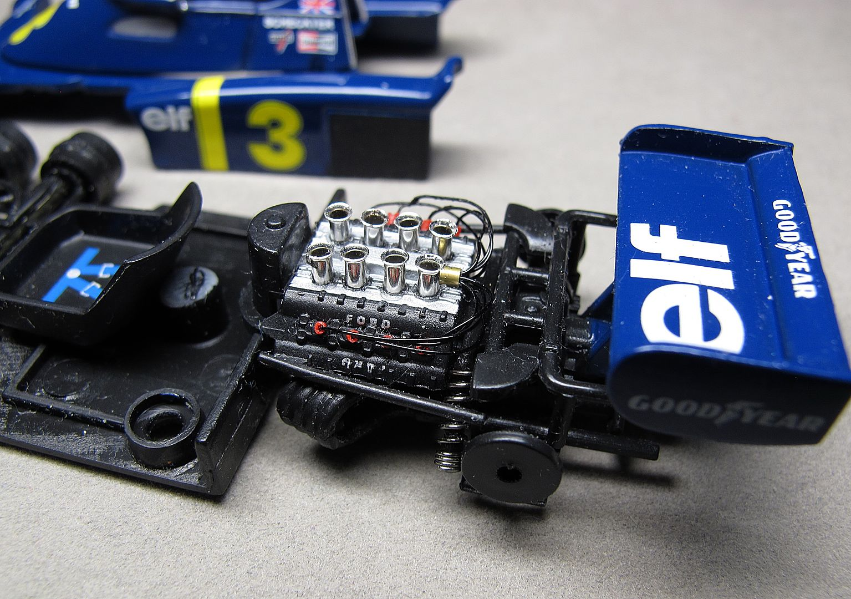 Formula 1 №13 - Tyrrell P34 Джоди Шектер (1976)