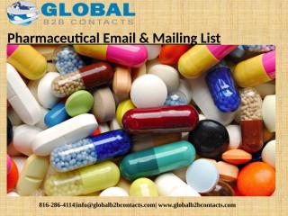 Pharmaceutical Email & Mailing List (1).pptx