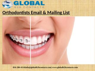 Orthodontists Email & Mailing List (1).pptx