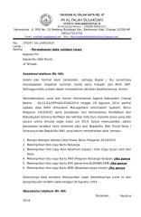070-2014. Surat Permohonan Data Validasi Siswa.docx