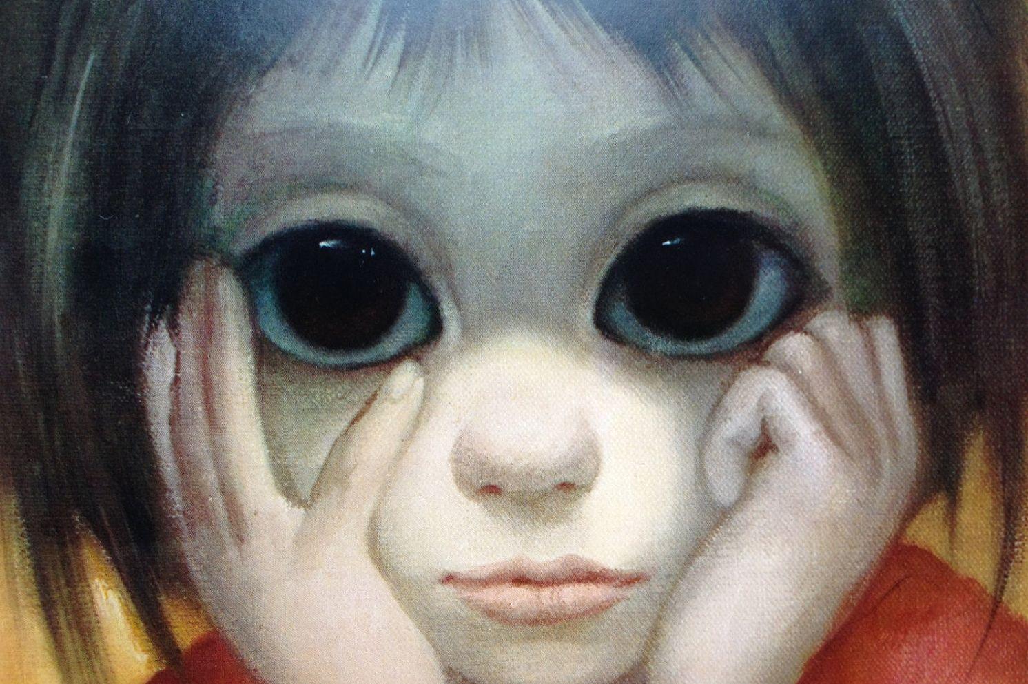 Дети большие глаза картинки
