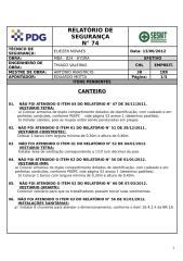MBA_824 13.06.2012 Relatório de Segurança nº 74- CANTEIRO.doc