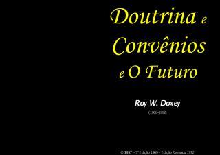 Doutrina e Convenios e o Futuro (Roy W. Doxey.pdf