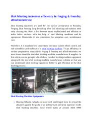 Shot blasting increases efficiency in forging & foundry, allied industries_.pdf
