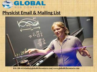 Physicist Email & Mailing List (1).pptx
