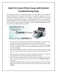 Quick Fix Canon Printer Issues with General Troubleshooting Steps.pdf