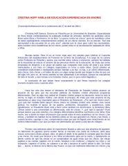 conferencia cristina hoff sobre educacion diferenciada.doc
