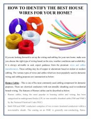 HOW TO IDENTIFY THE BEST HOUSE WIRES FOR YOUR HOME.pdf